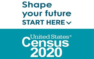 Census 2020 Start Here Logo