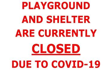 Playground Closed Announcement
