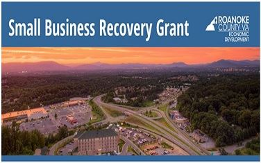 Small Business Recovery Grant Logo Image