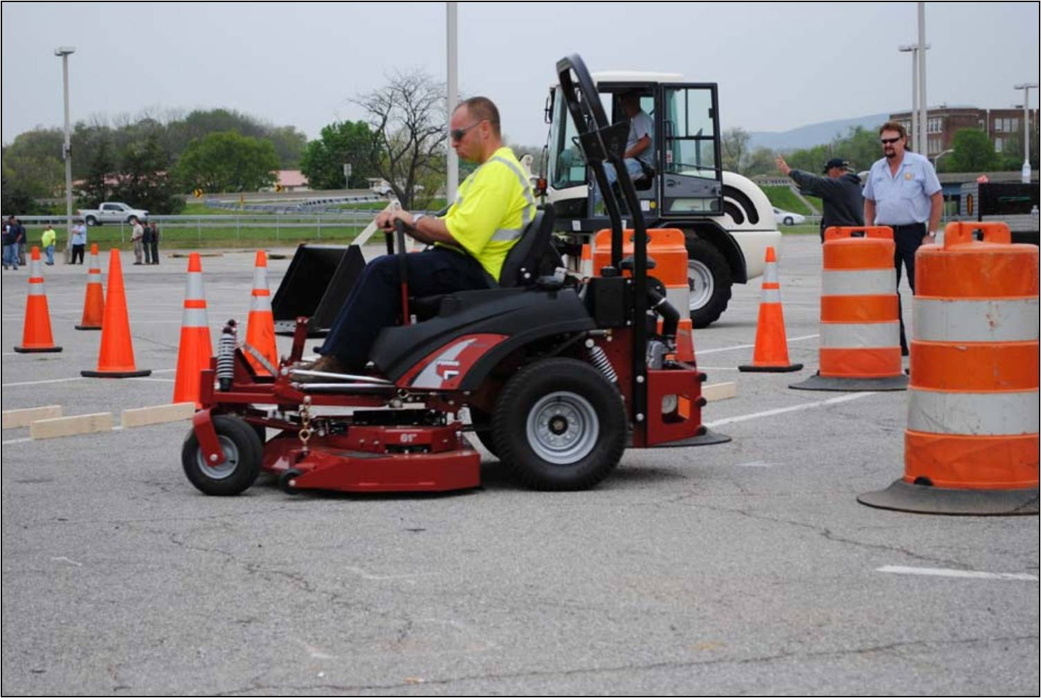 Town of Vinton sponsored the Zero Turn Mower event.