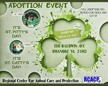 St. Pitty's Day and St. Catty's Day Adoption Event