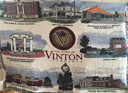 Vinton throw